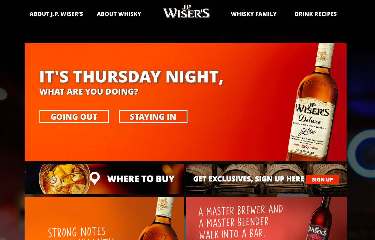 JP Wiser\'s website